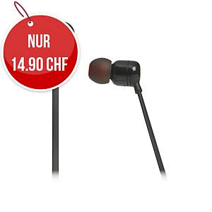 Headphone JBL Tune 110, schwarz