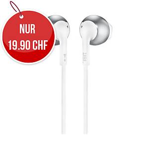 Headphone JBL Tune 205, Silber