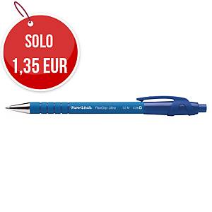 Penna a sfera a scatto PaperMate Flexgrip Ultra punta 1 mm blu