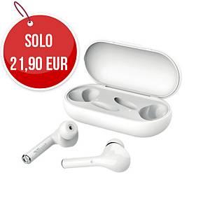 Cuffie auricolari wireless Bluetooth Trust Nika Touch bianco