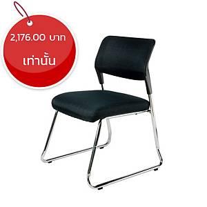 WORKSCAPE เก้าอี้พักคอย ZR-1025B สีดำ
