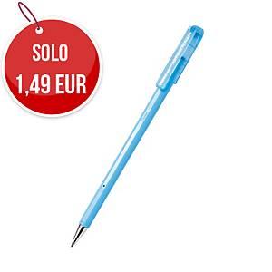 Penna a sfera con cappuccio Pentel antibatterica punta 0,7 mm nero