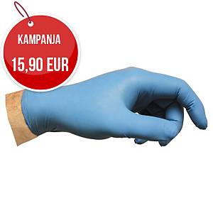 Nitriilikertakäyttökäsine PF sininen S 1 kpl=100 käsinettä