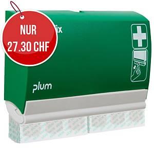 Pflasterspender QuickFix, mit 2x45 Aloe Vera Pflaster,grün/weiss