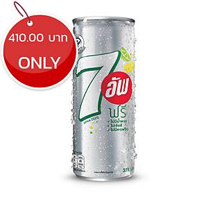 7UP FREE SOFT DRINK 325 MILLILITERS PACK OF 24 CAN