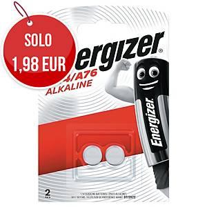 Batterie alcaline Energizer specialistiche LR44/A76 1,5V - conf. 2