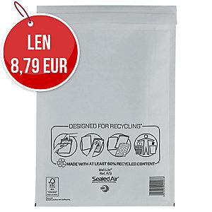 Obálky biele bublinkové Mail Lite 220 x 330 mm, 50 kusov/balenie