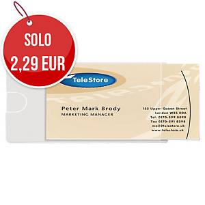 Pocket porta business card 3L - 6 x 9,5 cm - conf. 10