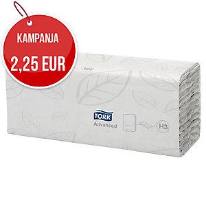 Tork C-fold käsipyyhe H3, 24x27,5 cm valkoinen, me 1rasia=20kpl =2400 arkkia