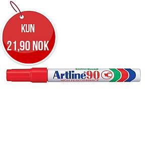 Permanent merkepenn Artline 90, 2,5 mm, rød