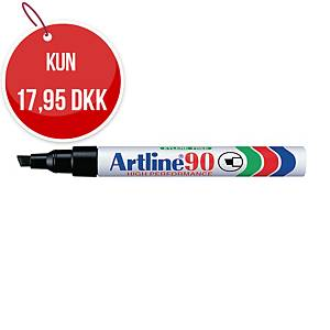 Permanent marker Artline 90, 2,5 mm, sort