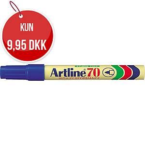 Permanent marker Artline 70, rund, blå