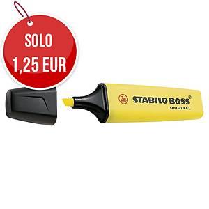 Evidenziatore Stabilo Boss giallo