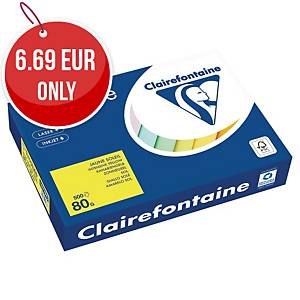 TROPHEE INTENSE COLOURED PAPER A4 80G YELLOW - REAM OF 500 SHEETS