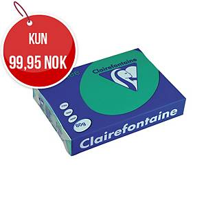 Farget papir Trophée, A4 80 g, skoggrønn 1783, pakke à 500 ark