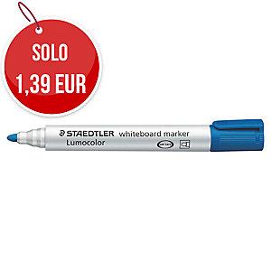 Marcatore lavagna cancellabile Staedtler Lumocolor Whiteboard 351 blu