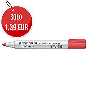 Marcatore lavagna cancellabile Staedtler Lumocolor Whiteboard 351 rosso