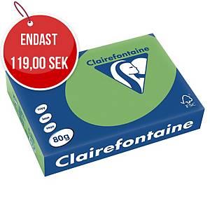 Färgat papper Trophée 1875, A4, 80g, lövgrönt, förp. med 500 ark