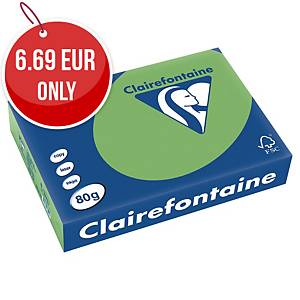 TROPHEE INTENSE COLOURED PAPER A4 80G GREEN- REAM OF 500 SHEETS