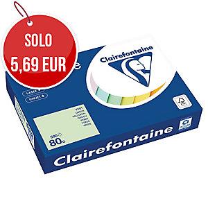 RISMA 500 FOGLI CARTA TROPHEE CLAIREFONTAINE FORMATO A4 80 G/MQ PASTELLO VERDE