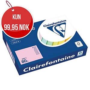 Farget papir Trophée, A4, 80 g, rosa 1973, pakke à 500 ark