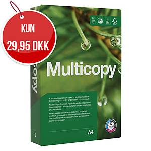 Multifunktionspapir MultiCopy Original, med hul, A4, 80 g, 500 ark