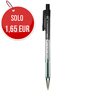 PENNA A SFERA A SCATTO PILOT BP-S MATIC FINE PUNTA 0,7 MM COL. NERO