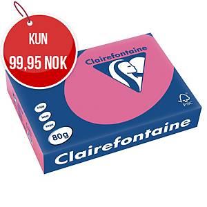 Farget papir Trophée, A4 80 g, rosa 1771, pakke à 500 ark