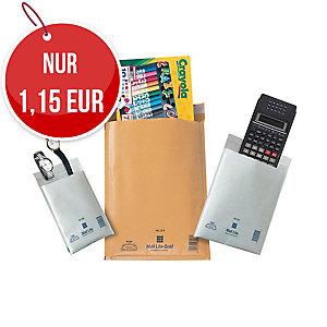 weiße Luftpolster-Versandtaschen - Innengröße: 120 x 210 mm, 10 Stück/Packung