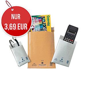 weiße Luftpolster-Versandtaschen - Innengröße: 350 x 470 mm, 10 Stück/Packung