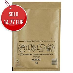 Buste a sacco imbottite Mail Lite® gold 22 x 33 cm avana - conf. 50
