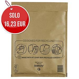 Buste a sacco imbottite Mail Lite® gold 24 x 33 cm avana - conf. 50