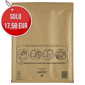Buste a sacco imbottite Mail Lite® gold 27 x 36 cm avana - conf. 50