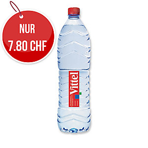 Vittel Mineralwasser ohne Kohlensäure 1,5 l, Packung à 6 Flaschen