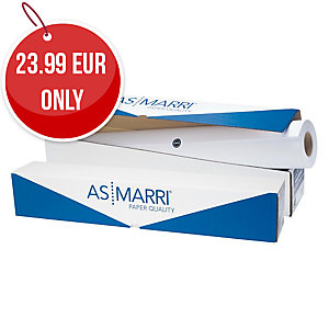 ROLL MATT PAP F/INKJET 62.5X50 90G