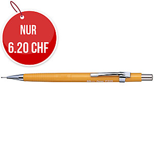 Druckbleistift Pentel P209, 0,9 mm, gelb