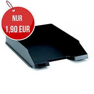 Herlitz Briefkorb A4 schwarz