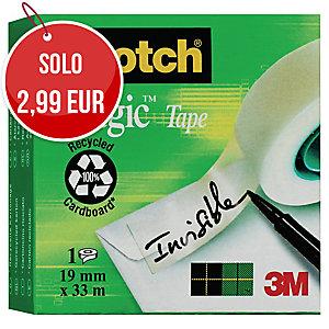 Nastro adesivo invisibile Scotch®Magic™ 810 L33 m x H19 mm