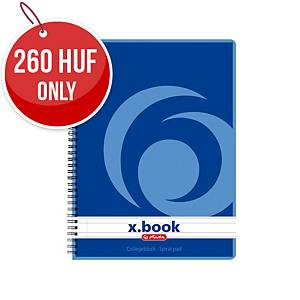 Herlitz Spiral Pad A5, 80 Sheets, Ruled
