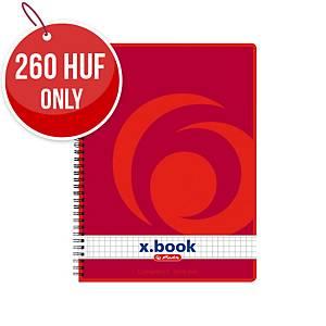 HERLITZ SPIRAL PAD C/FREE A5 80S 5X5