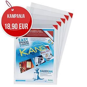 Tarifold Kang Easy Clic tarratasku A4, 1 kpl=5 taskua