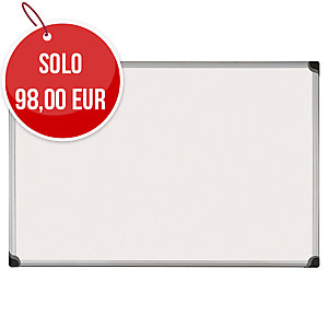 LAVAGNA CANCELLABILE MAGNETICA LACCATA BI-OFFICE MAYA W SERIES L 180 x H 120 CM
