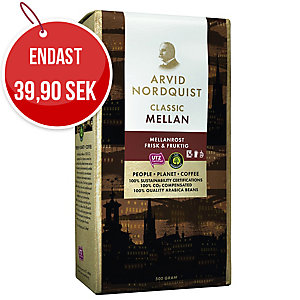 Kaffe Arvid Nordquist classic brygg mellanrost 500 g