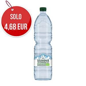 Acqua minerale naturale Levissima bottiglia RPET 1,5 L - conf. 6