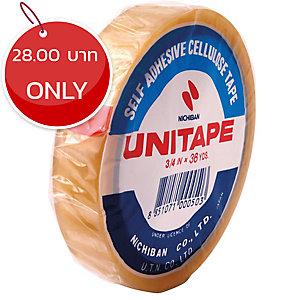 UNITAPE CELLULOSE TAPE 3/4   X 36 YARDS 3   CORE