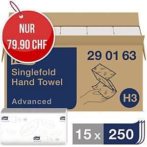 Falthandtuch Tork Advanced 290163, V-Falz, 2-lagig