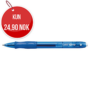 Gelpenn BIC Gelocity, medium, 0,7 mm, blå