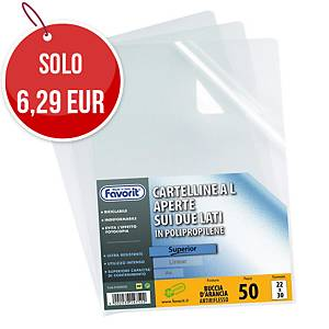 Buste a  L  pratic in naturene Favorit superior - lucide conf. 50