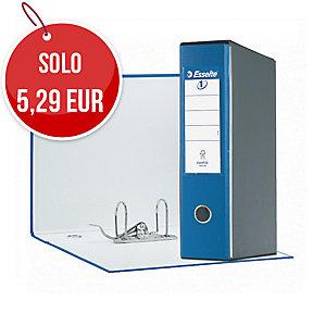 REGISTRATORE EUROFILE IN PP L 23 X H30 DORSO 8 COLORE BLU CON CUSTODIA