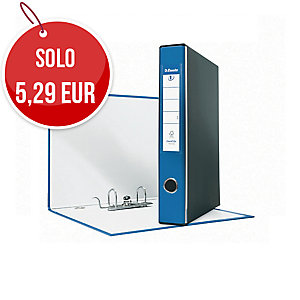 REGISTRATORE EUROFILE IN PP L 23 X H30 DORSO 5 COLORE BLU CON CUSTODIA